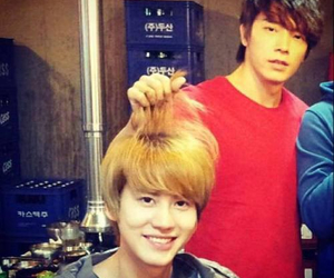 donghae and kyuhyun image
