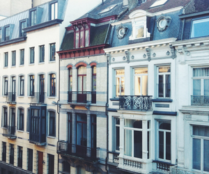 balcony, bruxelles, and love image