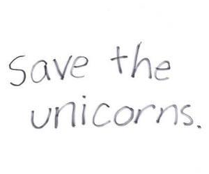 unicorn, save, and save the unicorns image
