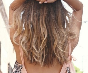 hair, summer, and hairstyle image