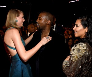 kanye west and Taylor Swift image