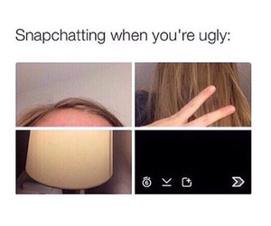 funny, snapchat, and ugly image