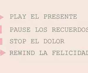 felicidad, frases, and play image