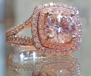 ring, luxury, and diamonds image