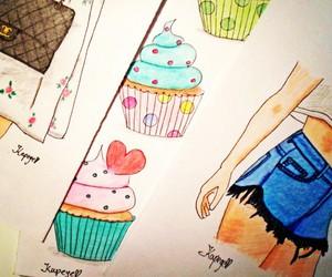 art, fashion, and blogger image