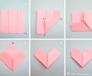 heart, pink, and tutorial image