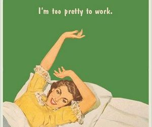 pretty, work, and funny image