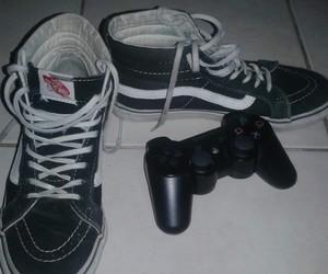 juegos, negro, and play station 3 image
