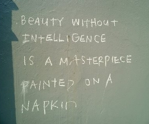 beauty, quote, and smart image