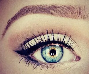 eyes, photography, and girls image