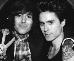 oliver sykes, jared leto, and tattoo image