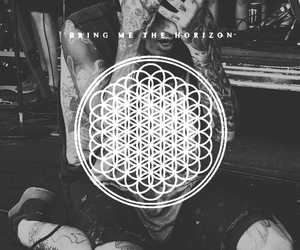 bmth, bring me the horizon, and oli sykes image