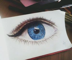 blue, colorful, and draw image