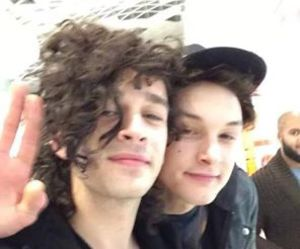 matty healy, the 1975, and george daniel image