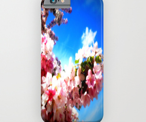 flowers, iphone case, and phone case image
