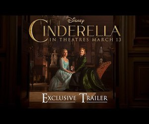 cate blanchett, lily james, and cinderella image