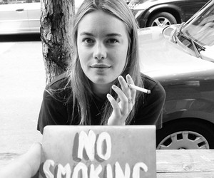 boho, cigarette, and fashion image