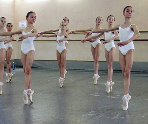 ballerinas, young, and balletshoes image