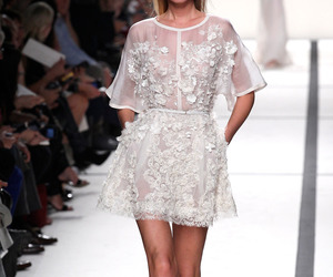 elie saab, dress, and white image