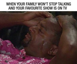 family, me, and tv image