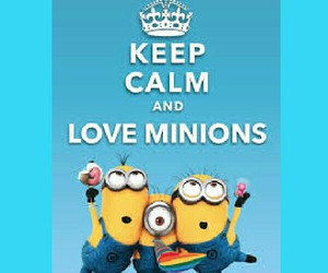 bannans, yeahh!!, and luv minions image