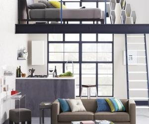 small space living, small space furniture, and decorating small spaces image