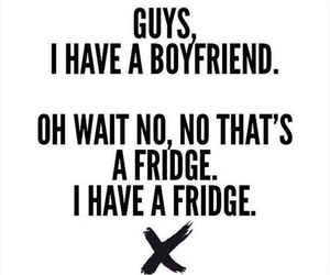 boyfriend, fridge, and funny image