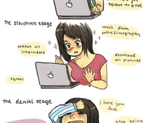 fangirl, funny, and fandom image