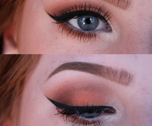 beautiful, eyes, and makeup image
