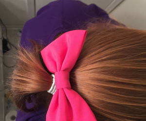ginger, hair, and hair bow image