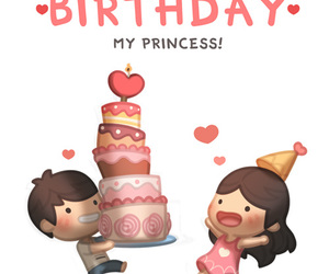 love and birthday image
