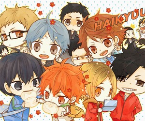 haikyuu and chibi image