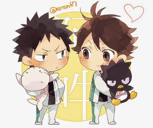 chibi and haikyuu!! image