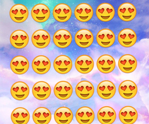 wallpaper, background, and emoji image