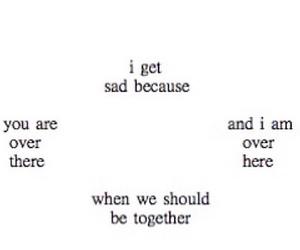 sad, love, and quote image