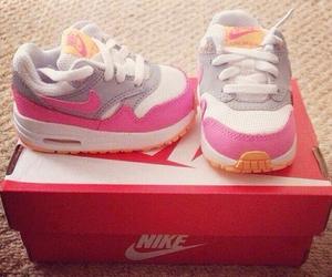 air max, pink, and baby image