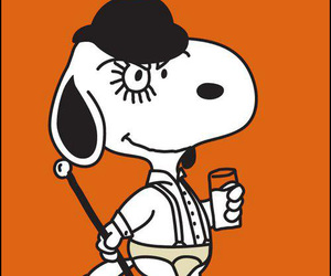 snoopy and clockwork orange image