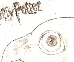 draw, film, and harry potter image
