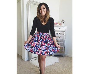 dress, pretty, and smile image