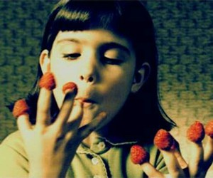 amelie, strawberry, and raspberry image