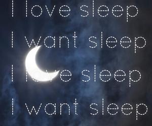 wallpaper, i love sleep, and moon image