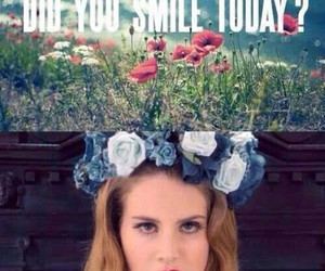 smile, lana del rey, and no image