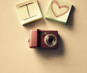 camera, love, and heart image