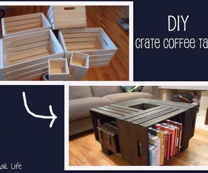 diy, table, and book image