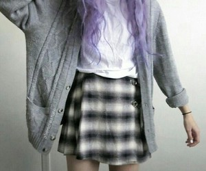 grunge, hair, and pale image