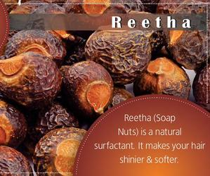 hair care, reetha, and soap nuts image