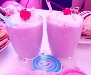 pink, cherry, and cute image