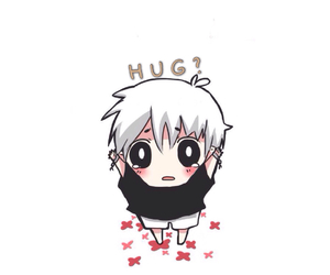 ?, blood, and hug image