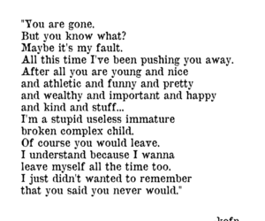alone, broken, and gone image