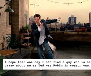 how i met your mother, TED, and love image